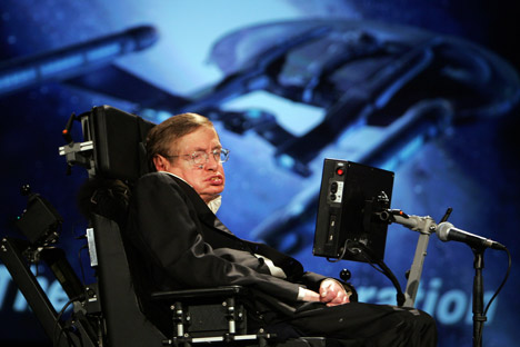 Physicist Stephen Hawking became the winner of the Special Fundamental Physics Prize founded by the Russian investor and Internet mogul, Yuri Milner. Source: AP