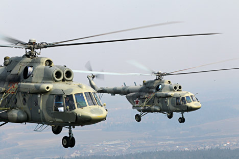 Despite a ban on U.S. Department of Defense deals with Russia Washington intends to carry through the deal involving the supply of 33 Mi-17 helicopters to the U.S. for the Afghan army. Source: RIA Novosti / Alexey Kudenko