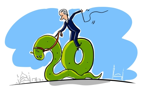 G20 Summit 2013. Drawing by Alexey Yorsh