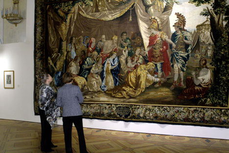 Alexander the Great, the largest exhibition ever mounted by Russia's State Hermitage Museum, has come to Australia. Source: ITAR-TASS.