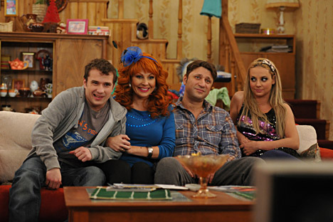 """Bukins from """"Happy together"""", the Russian version of the American series """"Married... With Children"""". Source: PhotoXpress."""