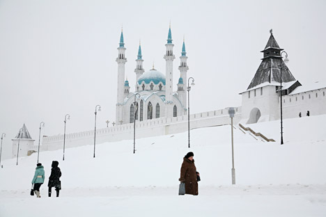 Kazan's Kremlin. Source: PhotoXPress