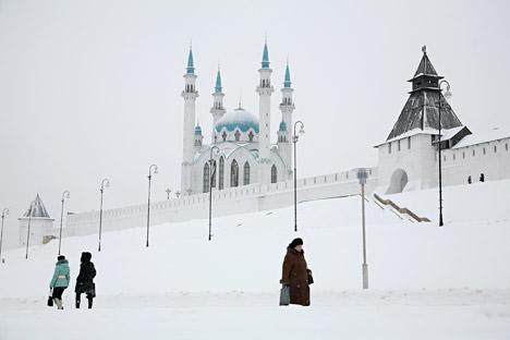 Kazan's Kremlin. Source: PhotoXPress