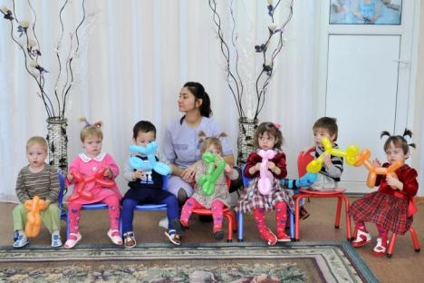 Adoptionsverbot für US-Ehepaare: Die russische Waisenkinder sollen zu Hause bleiben. Foto: RIA Novosti