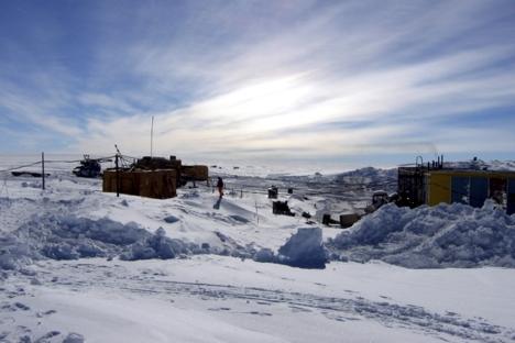 The Vostok Antarctic station. Source: Reuters / Vostock Photo