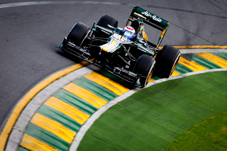 The recent Formula One season was remarkable for active Russian participation. Source: ITAR-TASS