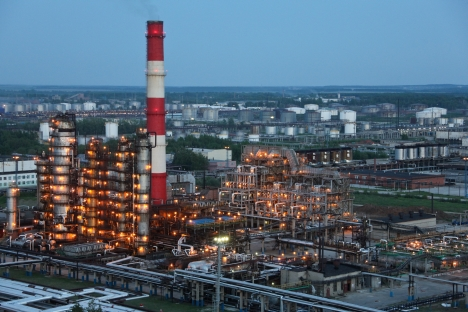Russia ranked 27th in the Energy Architecture Performance Index. Pictured: An oil refinery plant in the Ryazan Region. Source: ITAR-TASS