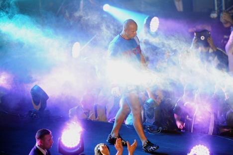 Russia's sambist and multi-time MMA champion Fedor Emelianenko before the fights with his Brazilian counterpart Pedro Rizzo. Source: ITAR-TASS