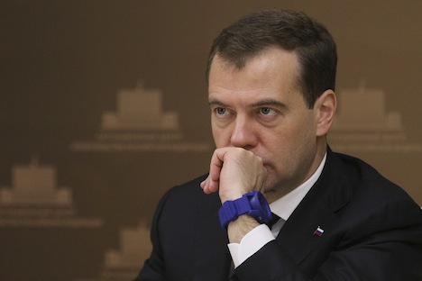"Dmitry Medvedev: ""That a journalist was killed means that these bandits have gotten to killing ordinary people. The culprits must be punished."" Source: ITAR-TASS"