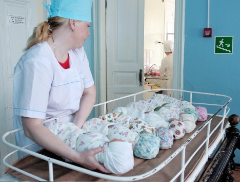 During ten months this year, the natural population increase amounted to 790 people. Source: ITAR-TASS