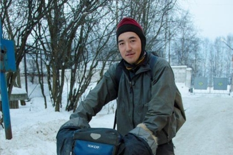 Famous Japanese traveler Haruhisa Watanabe has been killed in a traffic accident in the Murmansk region. Source: Press Photo