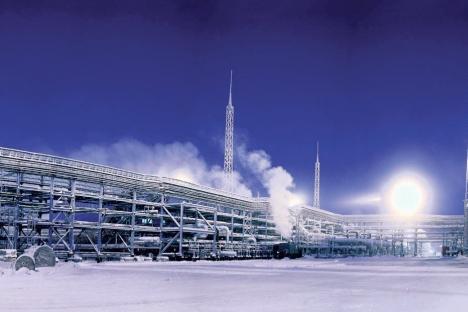 A gigante Gazprom, para manter sua posição no mercado de GNL, terá que aumentar sua capacidade produtiva, sobretudo porque, após a iniciativa de liberalização do mercado, suas ações sofreram queda Foto: Press Photo