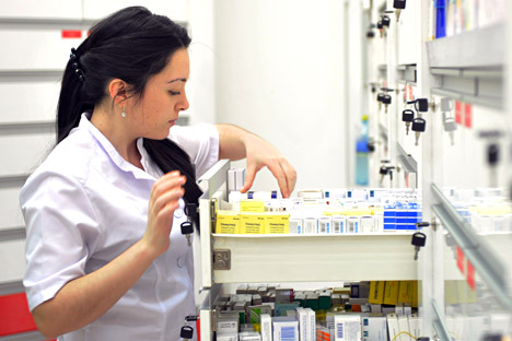 Russia's pharmacy industry looks attractive for Abbott Laboratories, the U.S. pharmaceutical giant. Source: Kommersant