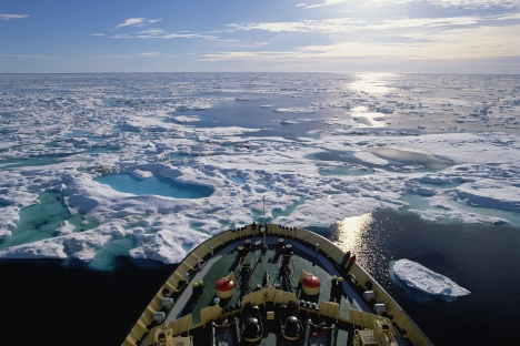 Ice remains a concern for shipping on the Northern Sea Route. Source: Getty Images / Fotobank