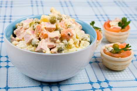 Salad 'Olivier.' Source: Lori / Legion Media