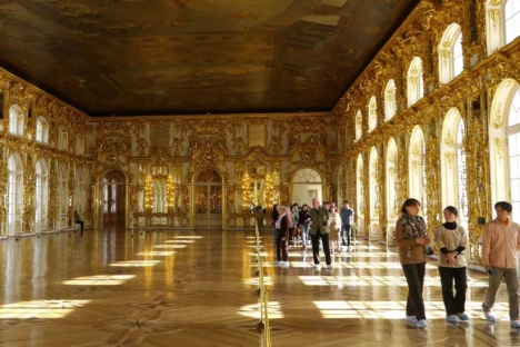 The Catherine Palace in Pushkin. Source: Mathew Crisci