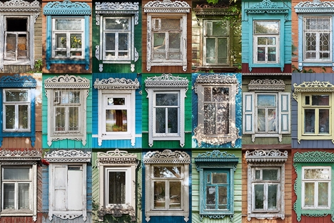 In the 18th century, window covers were an integral part of wooden architecture, and craftsmen employed a unique woodcarving technique, which has been preserved in regional traditions to this day. Source: nalichniki.com / Ivan Khafizov