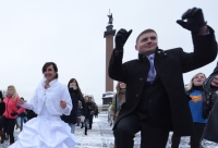 A wedding marathon in Russia on 12.12.12
