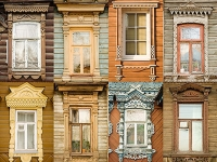 Virtual museum of Russia's traditional window cover
