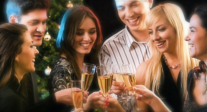 The old tradition of greeting the New Year with French champagne has been restored in Russia. Source: Source: PhotoXPress