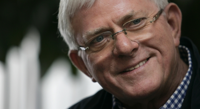 "Phil Donahue: ""The Soviets at that time were much more interested in us than we were about them."" Source: Reuters / Vostock Photo"
