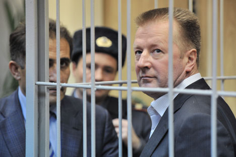 Russia's Investigation Committee arrested Nikolai Ryabykh in mid-January, following an interrogation he was called to participate in as part of a case on OAO Slavyanka, an Oboronservis subsidiary. Source: Sergey Kuznetsov / RIA Novosti