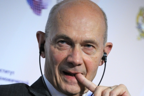 "Pascal Lamy, director general of the WTO: ""When Russia joined the WTO, it preserved many options for integrating into the world economy."" Source: Kommersant"