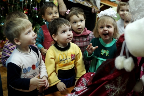 Russian orphans will stay in Russia. Source: RIA Novosti / Konstantin Chalabov