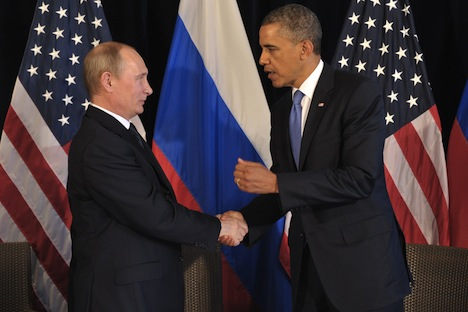 Vladimir Putin will meet Barack Obama in China.