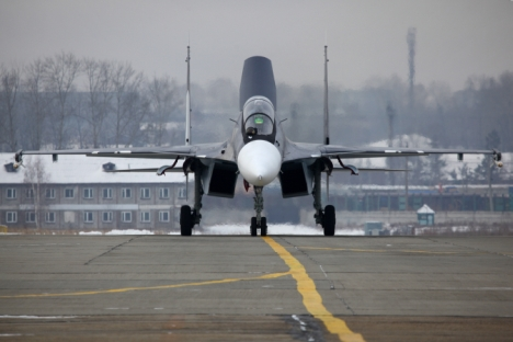 Su-30 SM fighter jet. Source: RIA Novosti