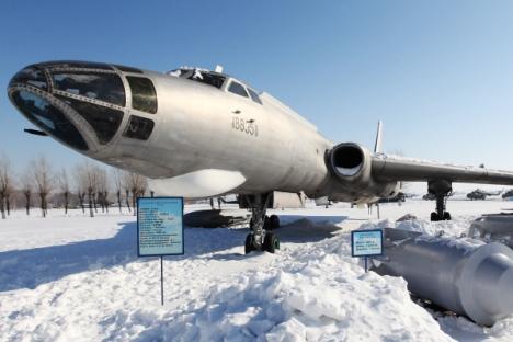 Long-range bomber Tu-16 at the Military planes museum on the Dyagilevo airfield. Source: RIA Novosti / Alexei Kudenko