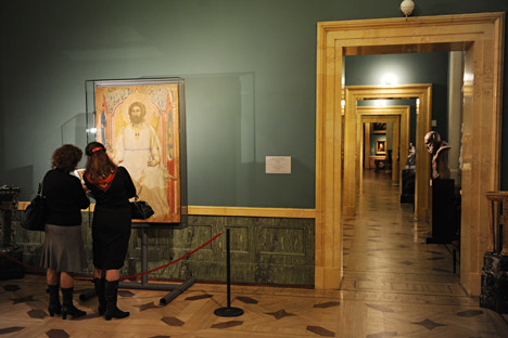 The historical role of museums has always been to preserve the cultural heritage — part of which is the ecclesiastical heritage, according to Mikhail Piotrovsky. Source: Sergey Ermokhin / RIA Novosti.
