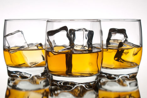 According to the Federal Customs Service of Russia, deliveries of spirits from abroad rose by 25.78 percent in the first half of 2012. Source: Lori / Legion Media.