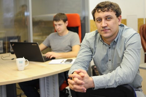In 2007, Ilya Korobeinikov, a manager with the well-known Russian IT firm Softline, founded the Domosite.ru start-up. Source: Courtesy of Domosite.ru