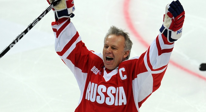 Vyacheslav Fetisov: The NHL recent events don't affect the quality of the game. They give an impetus to players to do their best at every practice and in every game to prove that they are worth their salaries. Source: ITAR-TASS