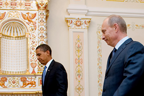 One of the central elements of reset was the way Obama administration changed its tone in dealing with Russia. Source: AFP/East News.