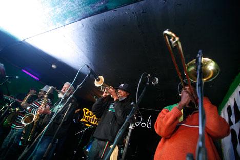 The Skatalites band in Griboedov club. Source: Kommersant