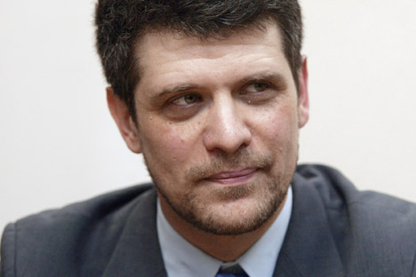 Dmitry Bak was named as the new director of the Literature Museum in late January. Source: Kommersant