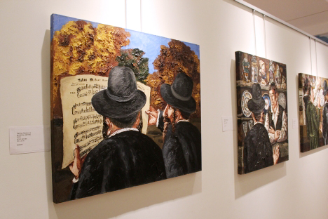 "The current exhibition in New York called ""Natalya Nesterova: Christianity? Judaism?"" covers both Christian and Jewish themes. Source: Anna Andrianova"