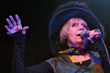 Now in her 70s, Petrushevksaya's recent decision to become a cabaret singer has been met with some confusion and controversy. Source: ITAR-TASS