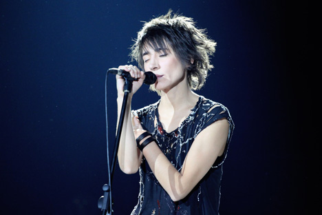 "The release of Zemfira's new album, ""Zhit v tvoei golove"" (""Live in your head""), is timed to coincide with her big Russian tour. Source: Yevgeny Feldman/RIA Novosti"