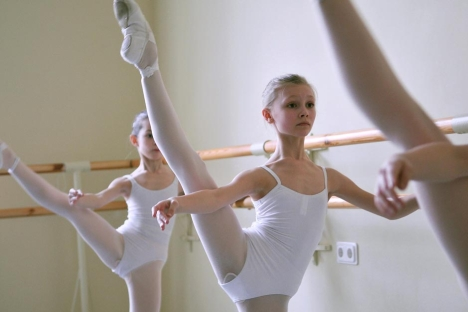 The stressful life of a ballet dancer starts with getting into ballet school. Source: Ekaterina Petrova