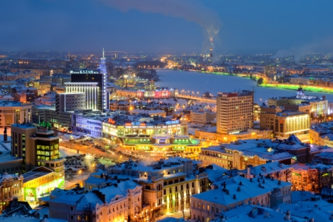 Kazan is described as the third capital of Russia. Source: Slava Stepanov / Gelio