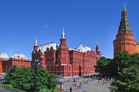 The building of the State Historical Museum (formerly the Imperial Russian Historical Museum) appeared on Red Square in the last quarter of the 19th century. Source: Lori / Legion Media