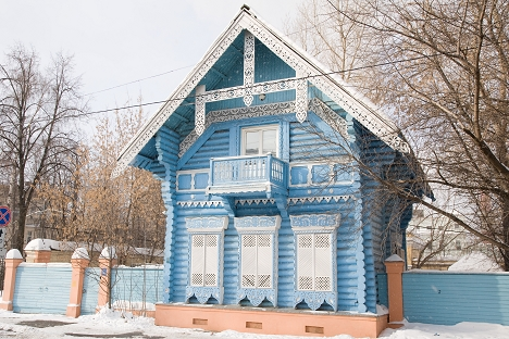 The wooden Pogodinskaya Hut is one of the examples of the traditional architecture. Source: Lori / Legion Media
