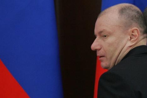 Vladímir Potanin, proprietário da holding Interros, ocupa sétimo lugar da lista, com fortuna estimada em US$ 14,3 bilhões Foto: Rossiyskaya Gazeta