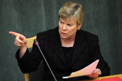Rose Gottemoeller, undersecretary of state for arms control, left Russia with controversial results. Source: AFP / East News