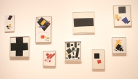 MOMA brought together Malevich, Kandinsky and Tatlin