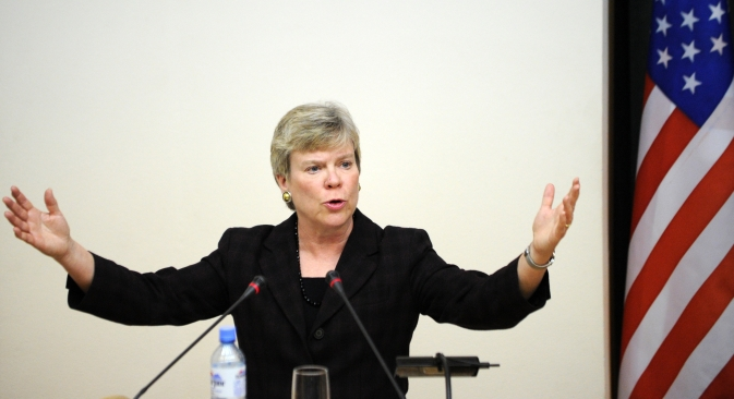 Rose Gottemoeller, undersecretary of state for arms control, is expected to propose launching negotiations between Russian and the U.S. on further reductions in nuclear arsenals during her upcoming visits to Russia. Source: AFP / East News