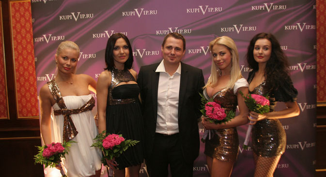 Fashion sense: KupiVIP's Oskar Hartmann is bringing designer labels to online customers. Source: PhotoXpress